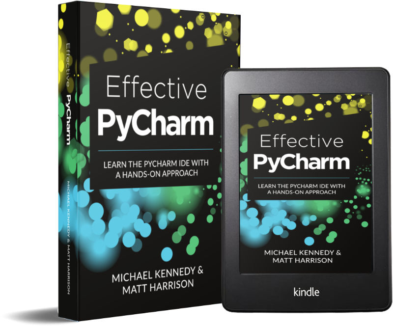 Effective PyCharm book